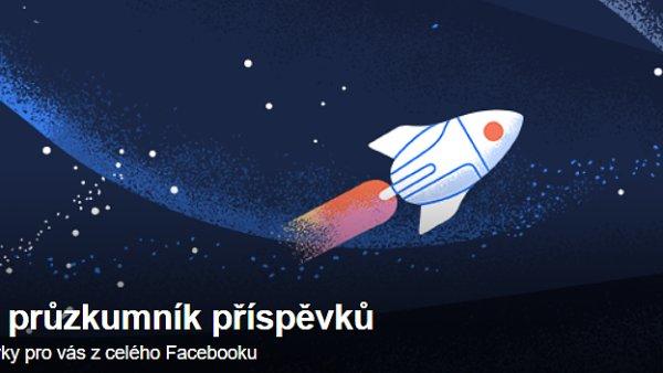 Průzkumník příspěvků na Facebooku