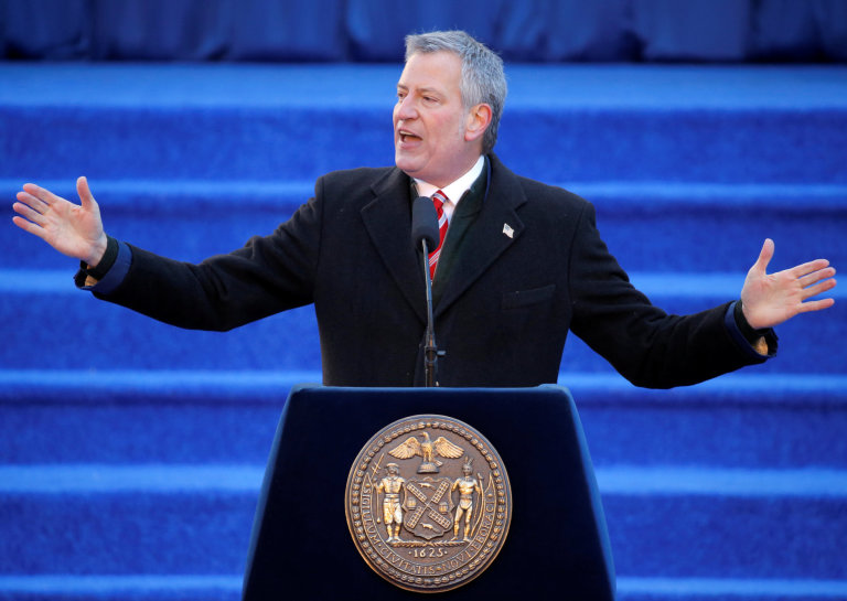 Starosta New Yorku Bill de Blasio