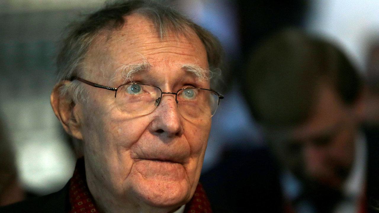 Zemřel Ingvar Kamprad, zakladatel nábytkářského řetězce Ikea.