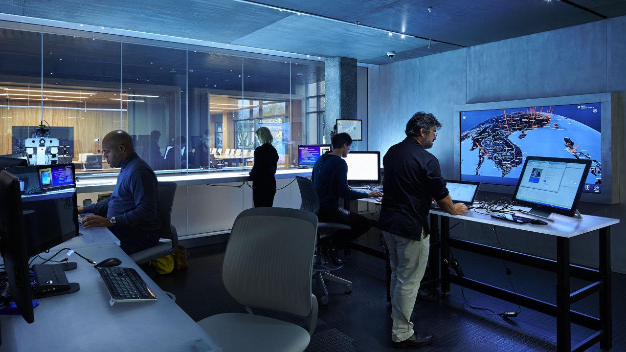 Bezpečnostní centrum Microsoftu.