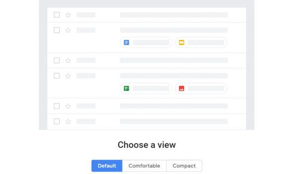 Připravovaná nová podoba Gmailu