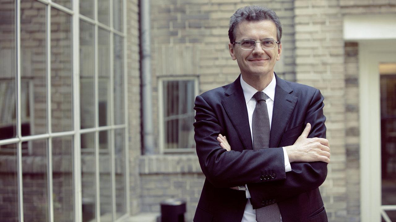 Sergio Bertoncini, analytik nadnárodní investiční společnosti Amundi