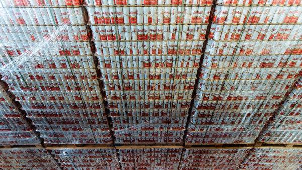 V posledních letech silně narůstá prodej piva v plechovkách.
