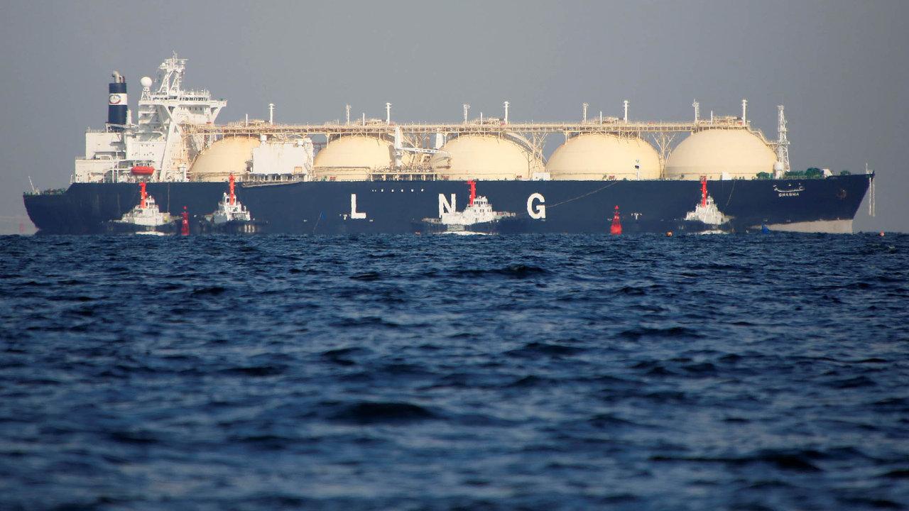 LNG je globální produkt, získává se ze čtyř různých kontinentů - Ilustrační foto.
