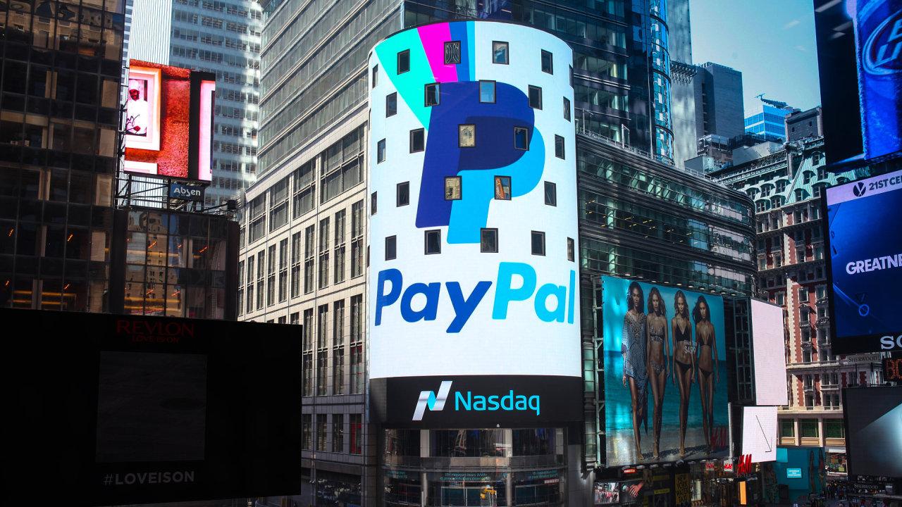 PayPal jde na burzu. Tržní hodnotou překoná mateřský eBay.