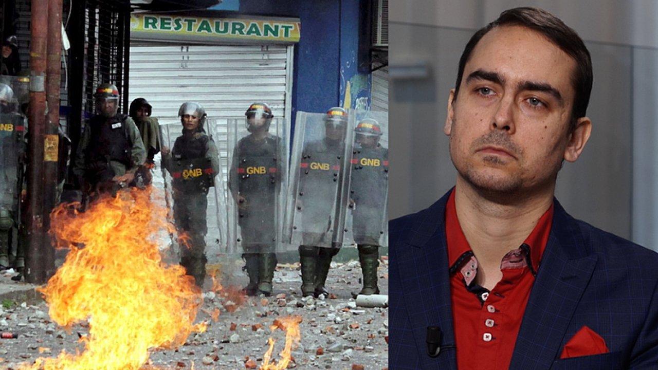 Nepokoje ve Venezuele? Není cesty zpět, lidem se žije každým dnem hůř a hůř, říká Rey.