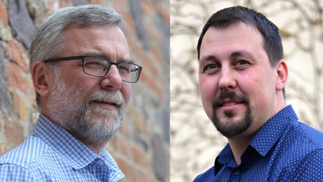 Jan Škerle a Lubomír Veselý, management společnosti CCV Informační systémy