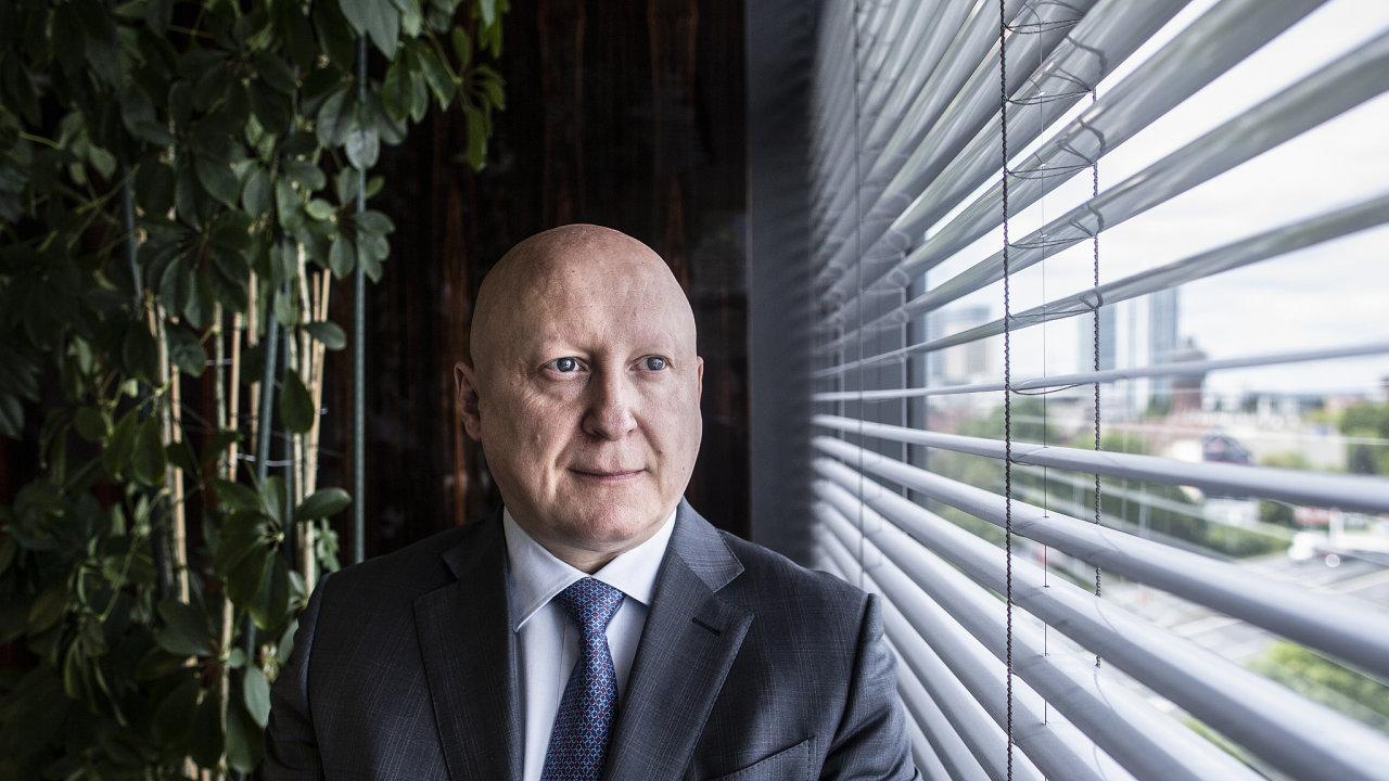 Generální ředitel apředseda představenstva ČEZ Daniel Beneš.
