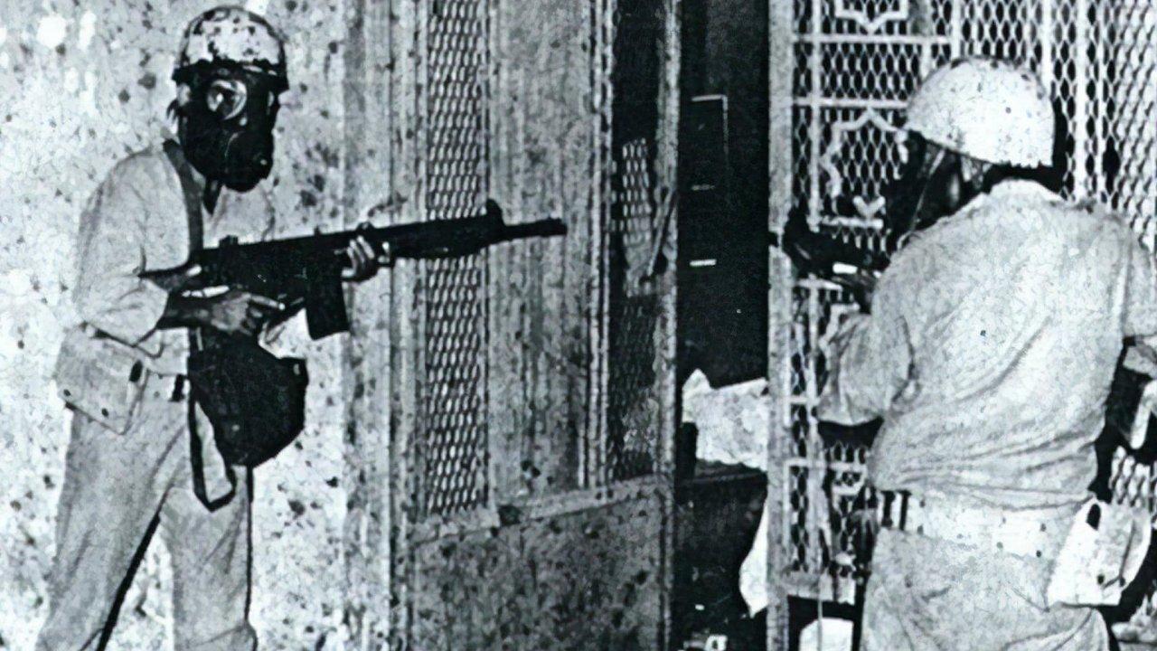 Francouzská protiteroristická jednotka GIGN pro vypuzení teroristů z podzemí zvolila stejný plyn, jaký použili ruští policisté při zásahu v moskevském divadle Na Dubrovce v roce 2002.