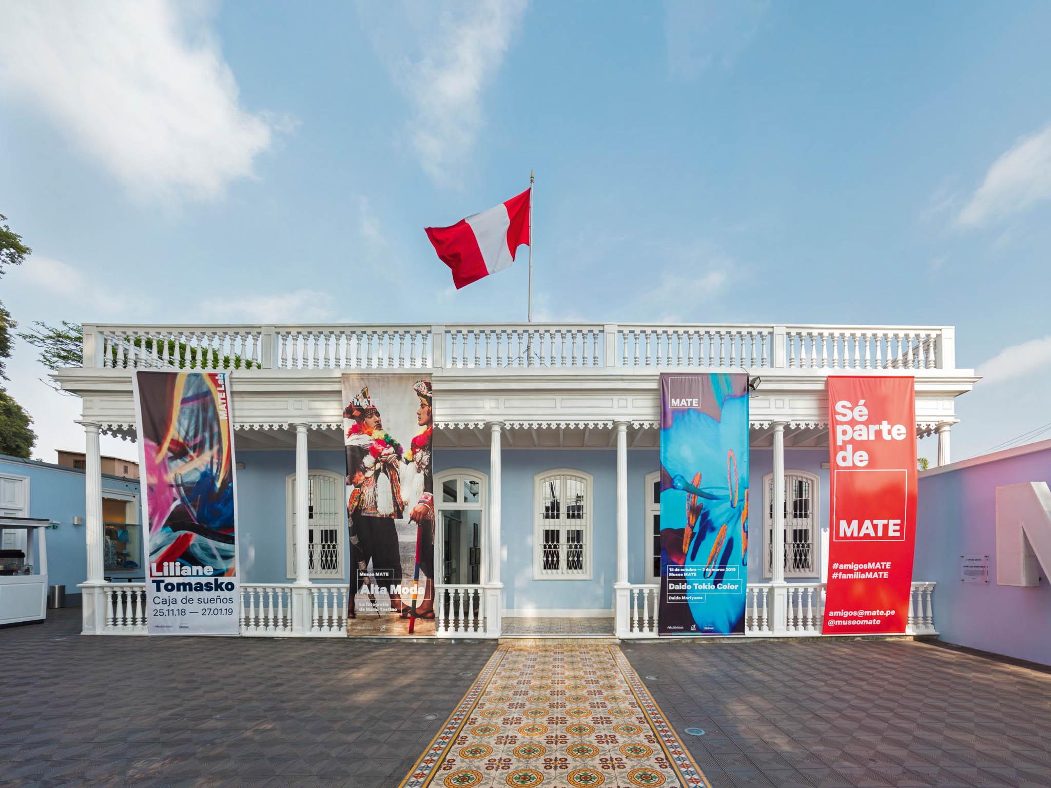 Muzeum peruánského fotografa Maria Testina v Limě