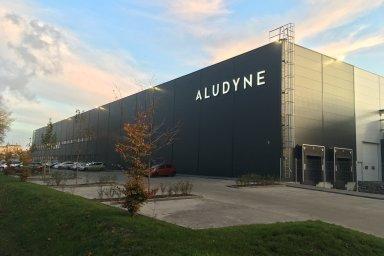 Hala výrobce Aludyne v Contera Parku Ostrava.