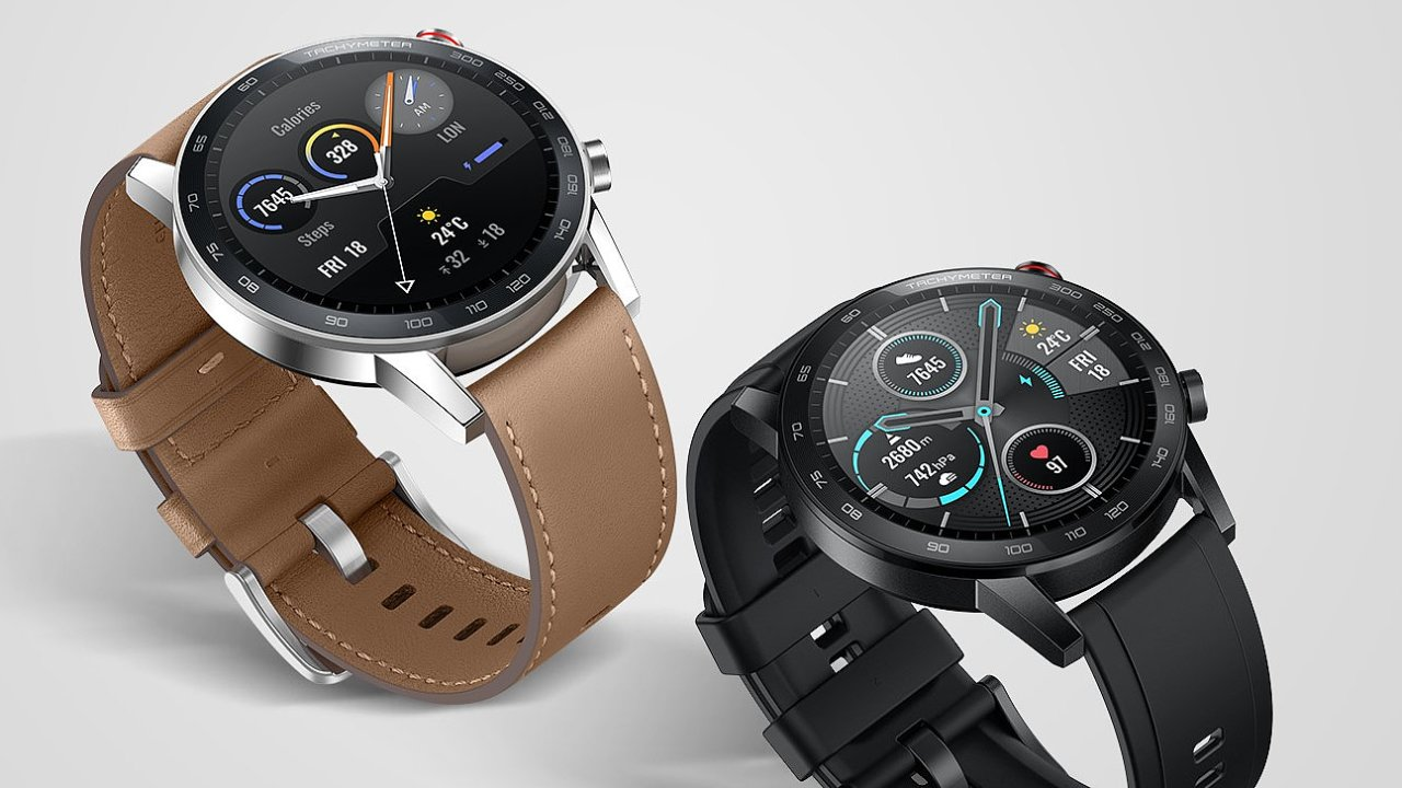 Chytré hodinky MagicWatch 2 hlídají spánek i zdraví.