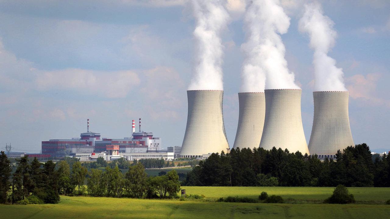 Jedno z vybraných míst pro úložiště jaderného odpadu je poblíž elektrárny Temelín.