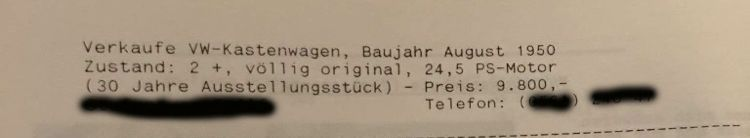 Až po několika inzerátech (bez fotografie a se třemi řádkami textu, jak bylo tehdy obvyklé) si Transporteru všiml Dán Tonny L.