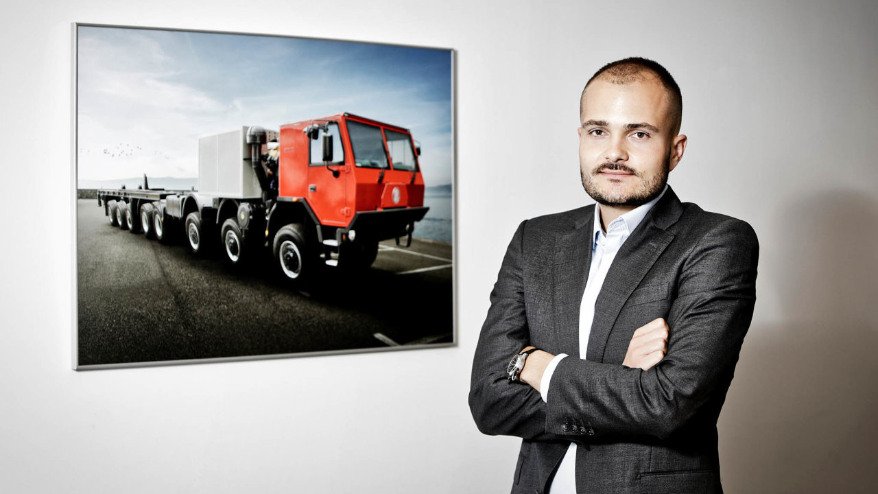Podnikatel Michal Strnad.