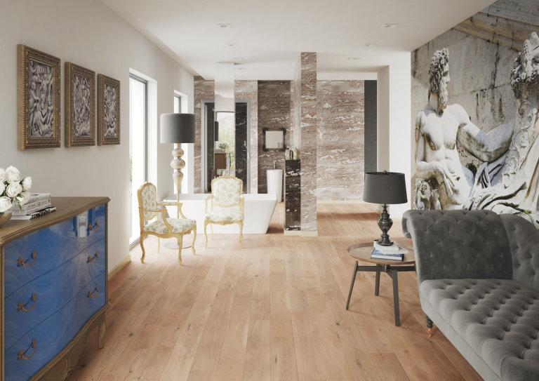 Luxusní dřevěná podlaha Barlinek Banana-Song-Grande