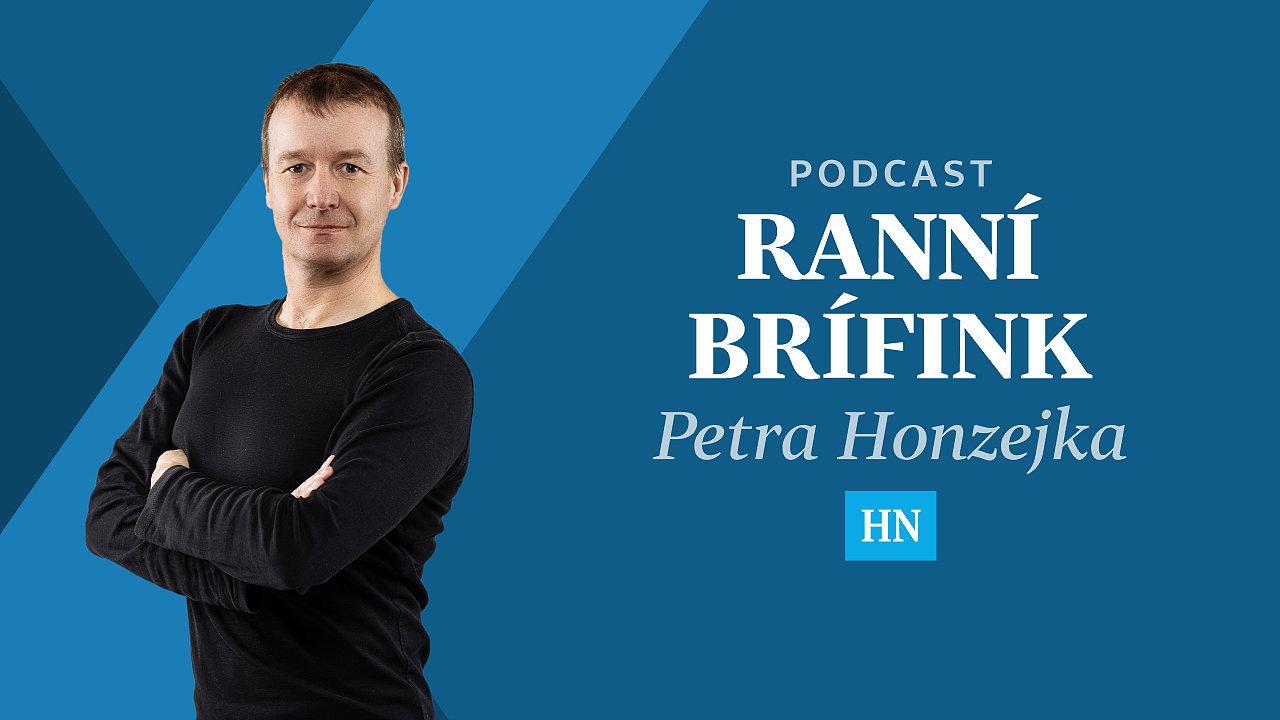 Ranní brífink Petra Honzejka