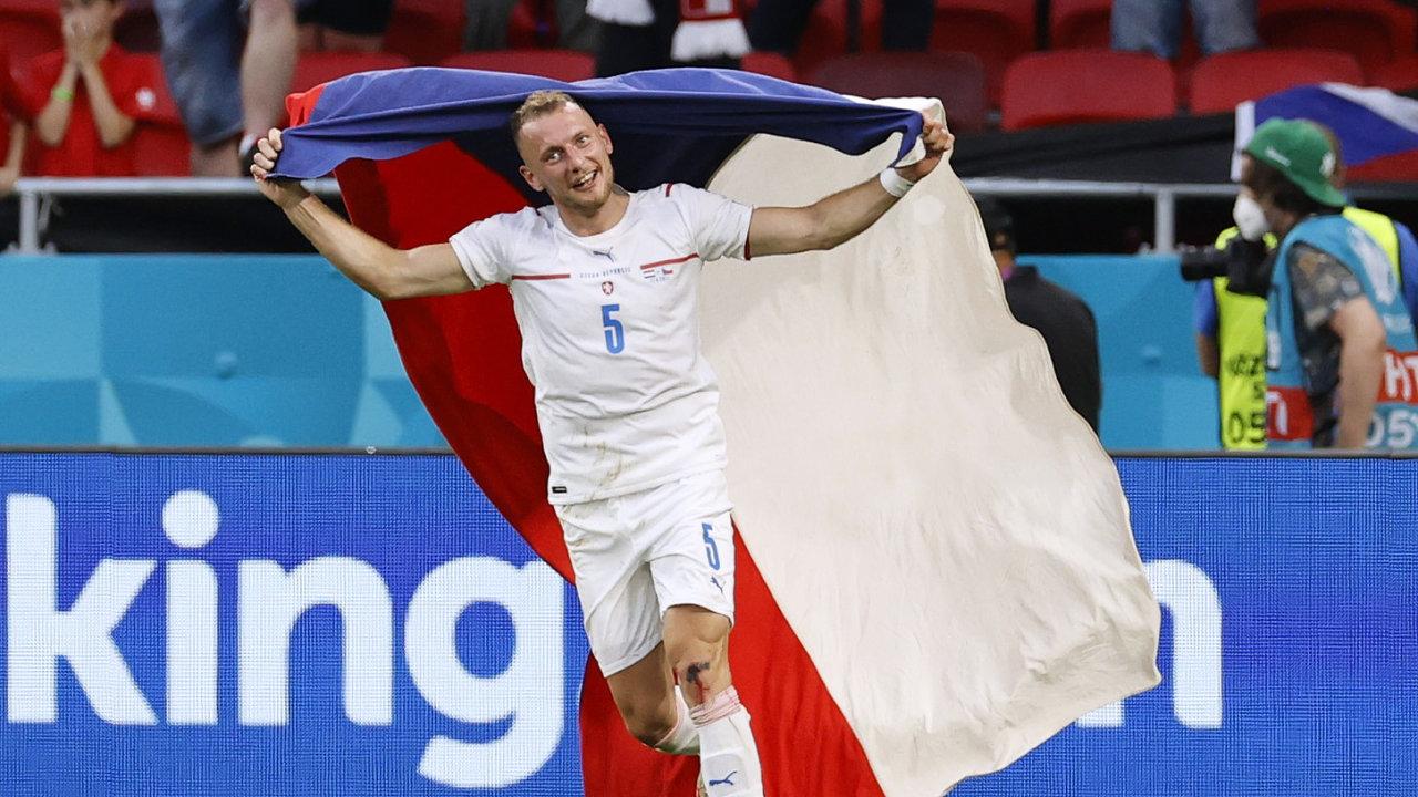 Česko porazilo Nizozemsko a postoupilo do čtvrtfinále Eura 2020