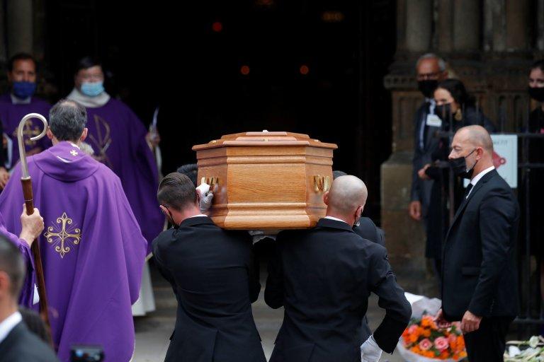 Jean-Paul Belmondo, pohřeb