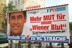 Předvolební kampaň Heinze Christiana Stracheho