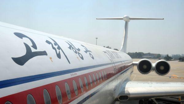 Letadlo aerolinek Air Koryo
