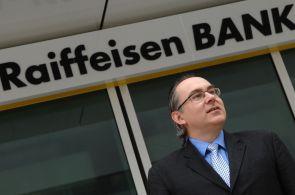 Lubomír Žalman, generální ředitele Raiffeisenbank