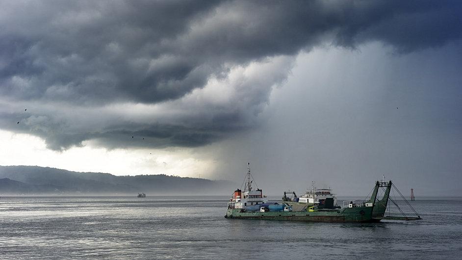 Nákladní loď, ilustrační foto