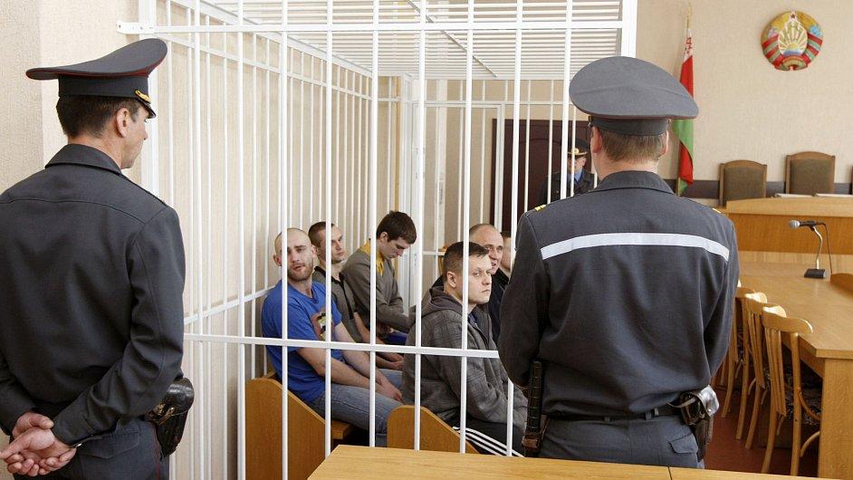 V Bělorusku soudí politické odpůrce prezidenta Lukašenka (ilustrační foto).