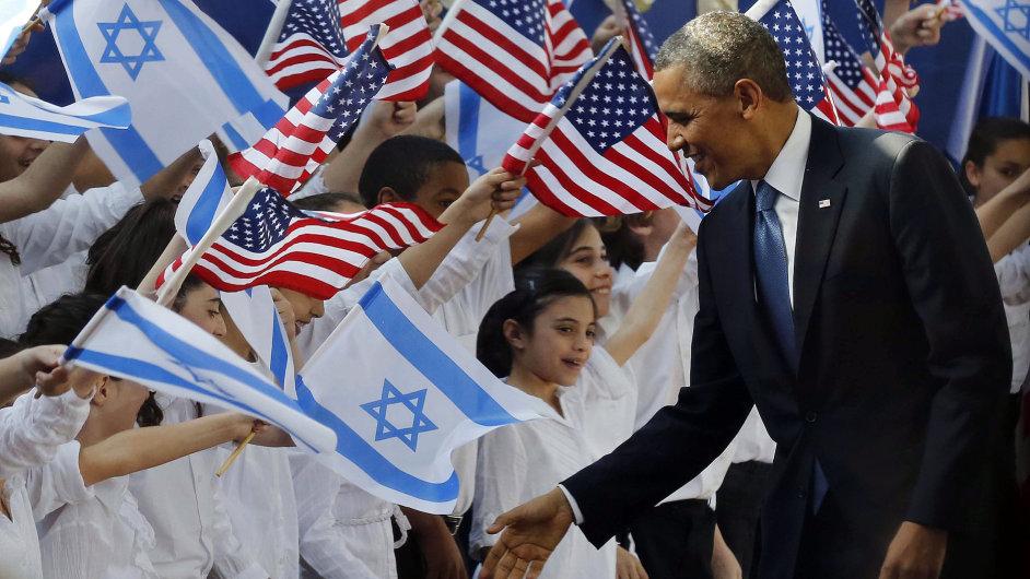 Barack Obama na Blízkém východě.