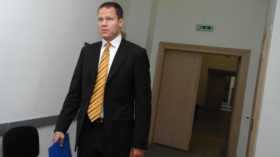 Filip Bušina u soudu