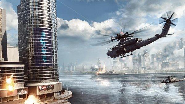 V Siege of Shanghai můžete zbořit mrakodrap