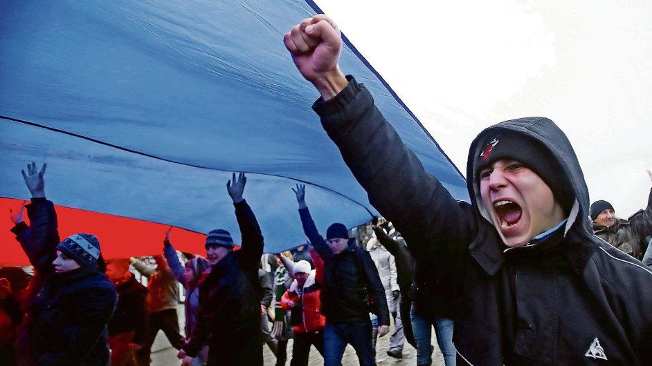 Na Krymu jsou tendence k odtržení od Ukrajiny nejsilnější