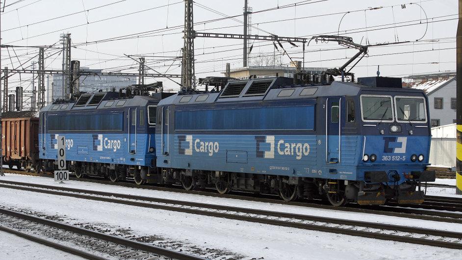 Nákladní vlak ČD Cargo