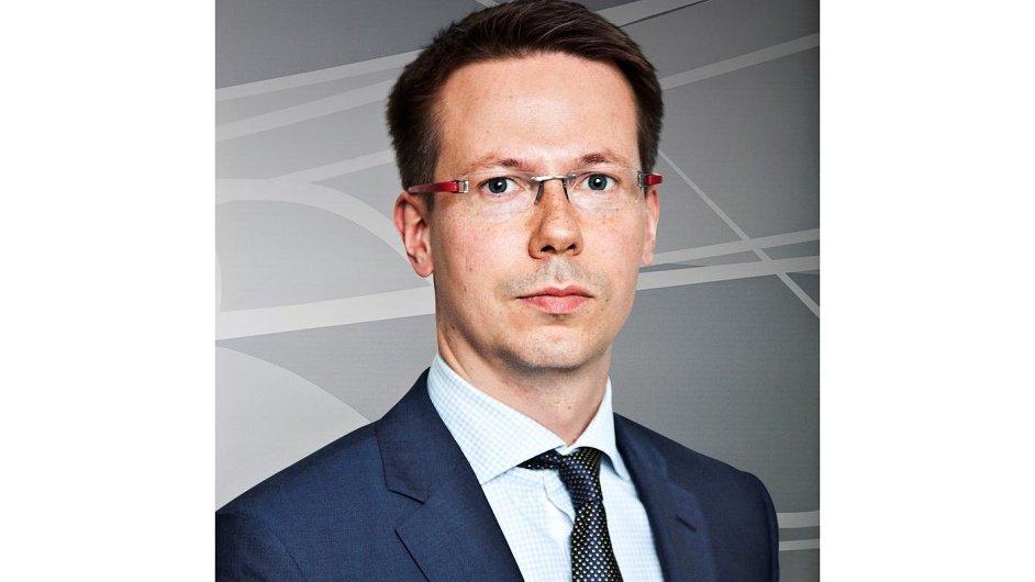 Łukasz Piotrowski, člen představenstva společnosti Unipetrol