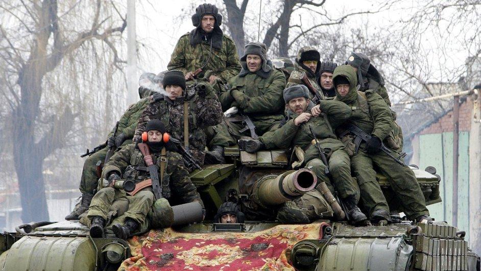 USA obviňují Rusko, že dodává ukrajinským separatistům protivzdušné systémy - Ilustrační foto.