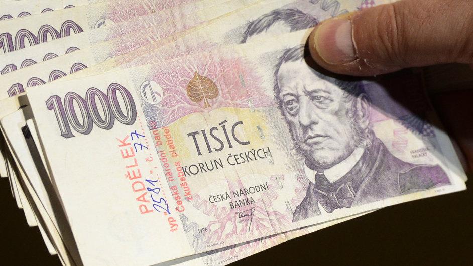 Nejvíce se v Česku padělají tisícikorunové bankovky