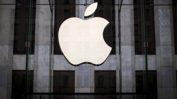 Logo americké společnosti Apple.