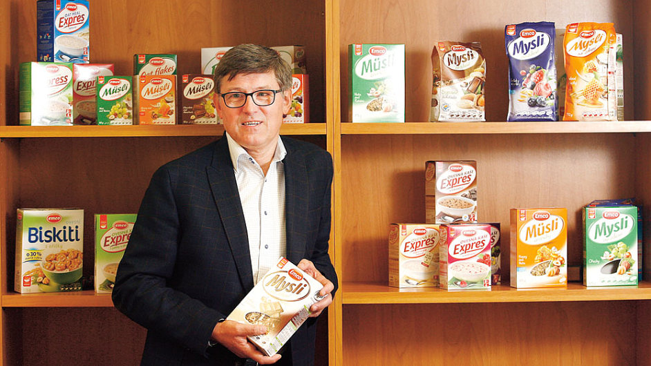 Nejdůležitějším trhem jsou pro Emco USA, loni tam vyvezlo 50 kontejnerů za 50 milionů, říká Zdeněk Jahoda.