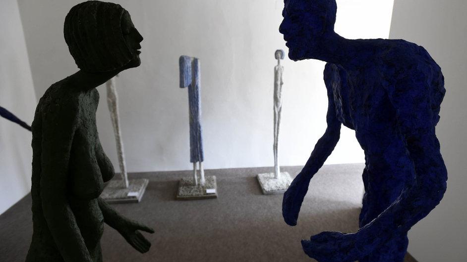 Snímek z výstavy Olbrama Zoubka