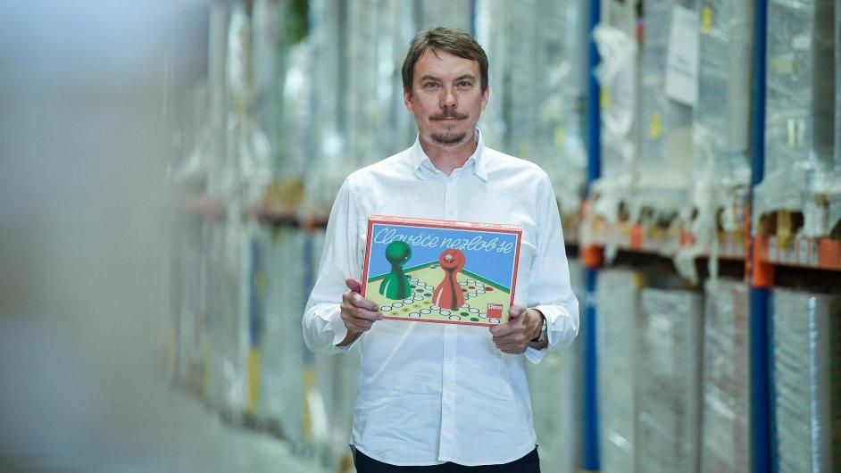 Jan Šlemín ze společnosti Dino Toys.