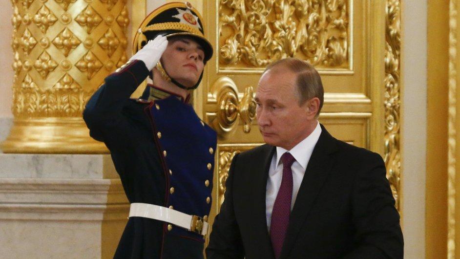 Putin, Kreml, Rusko.