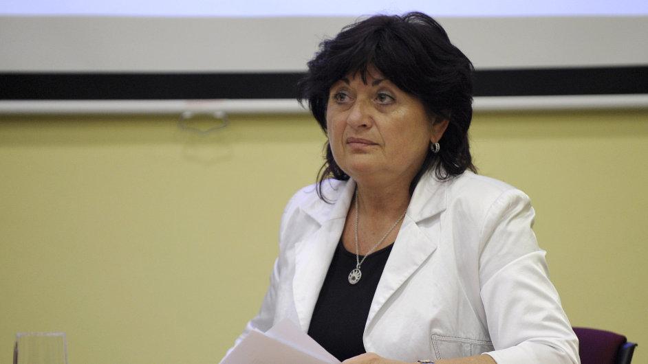 Bývalá hejtmanka Ústeckého kraje Jana Vaňhová.