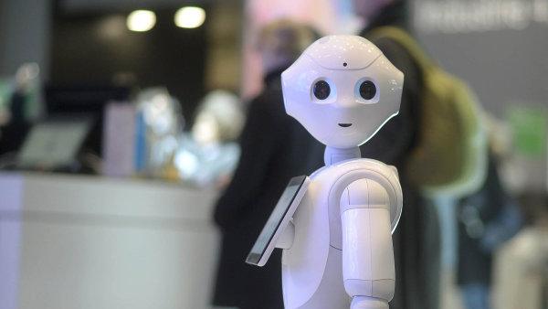 Zdaňte práci robotů, vyzývá zakladatel Microsoftu a nejbohatší člověk planety Bill Gates – Ilustrační foto.