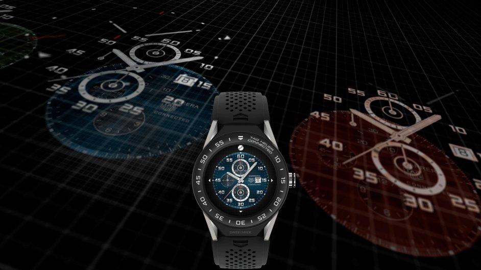Chytré hodinky TAG Heuer Connected Modular 45