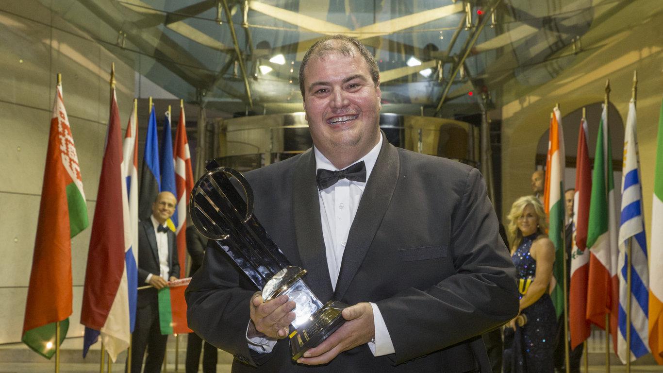 Světovým podnikatelem roku se stal Kanaďan Al-Katib, majitel společnosti AGT Food and Ingedients.