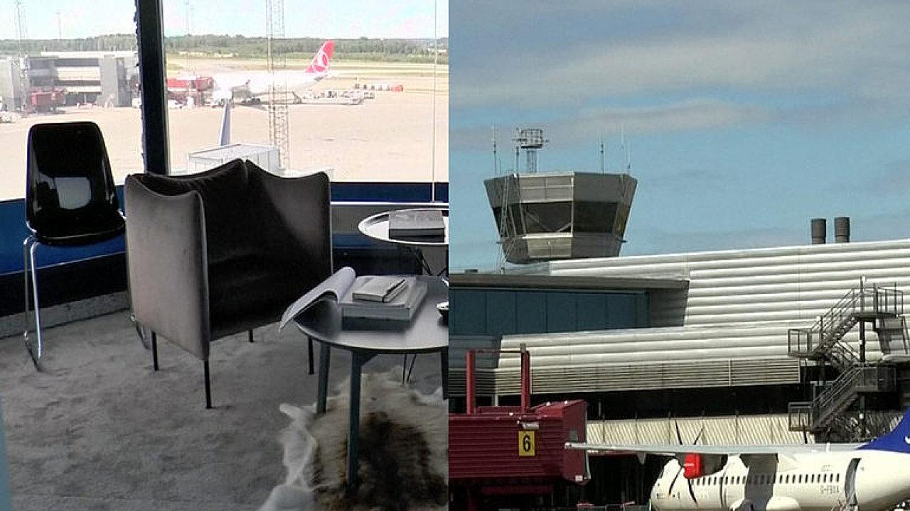 Kontrolní věž na letišti se změnila v luxusní byt. Noc v ní si užije jen pět lidí.