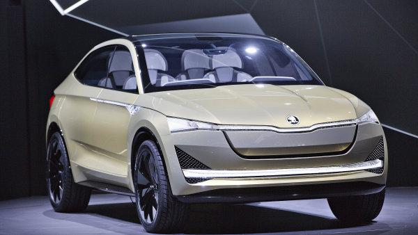 Studie elektrického vozu Škoda Vision E byla představena 11. září ve světové premiéře v předvečer 67. mezinárodního autosalonu ve Frankfurtu nad Mohanem.