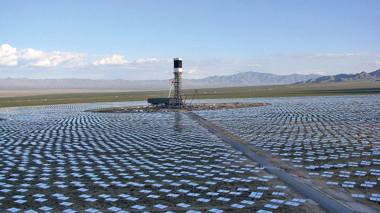 Solární elektrárna Ivanpah