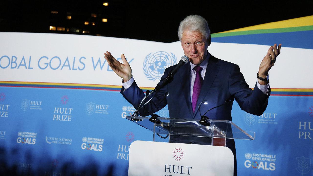 Bill Clinton svůj detektivní román vydá příští rok v červnu.