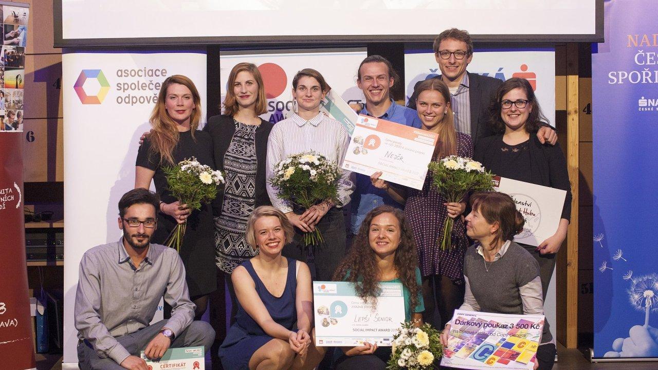 Vítězové Social Impact Award 2017